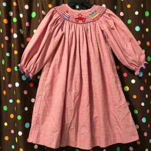 Other - Back to school smocked dress size 4t